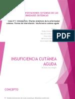 INSUFICIENCIA CUTÁNEA AGUDA