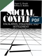 L03 Pruitt Social Confict Cap 6 Processes