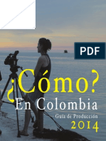 Guia Produccion Español 10 Sept 14 Producción de Cine en Colombia