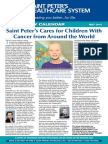 Saint Peter's Cares for Children With Cancer from Around the World
