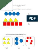 Test Docimologic Invăţământul Preşcolar