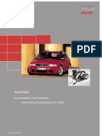 Audi RS4 Service Manual
