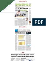 El sector de zonas francas creció en 2014