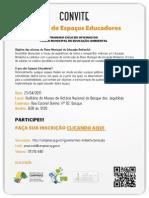 Programa Municipal de Educação Ambiental - Oficina sobre Espaços Educadores