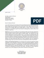 Letter to HPS Superintendent