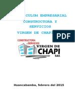 Curriculum Vitae - Construcción