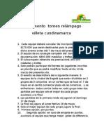 Reglamento Hexagonal Villeta Cundinamarca