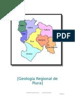 Geología Regional de Piura