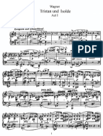 Wagner Tristan Und Isolde Vocal Score