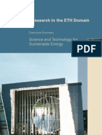 Energy Research in the ETH Domain