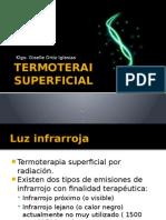 TERMOTERAPIA SUPERFICIA infrarrojo