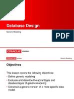 database desing
