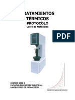 Práctica de Tratamiento Térmico - Escuela Colombiana de Ingeniería