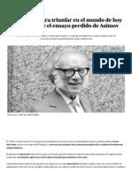 El ensayo perdido de Asimov