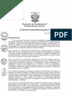 Resolución n058 2015 Cosusineace Cdah p
