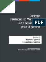Conceptos Basicos de Hacienda - Cartilla