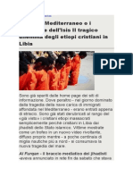 Massacre de Cristãos Na Líbia