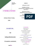 Uniorganismo - Ahina