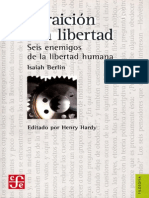 La Traición de La Libertad - Isaiah Berlin
