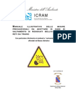 Manuale illustrativo delle misure precauzionali da adottare in caso di salpamento di residuati bellici mediante reti da traino