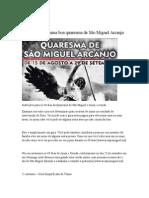 Instrucao Quaresma Sao Miguel Arcanjo www Arcanjomiguel Net
