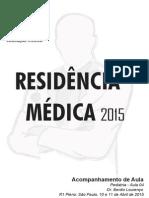 Pediatria A4 SP 10 e 11-04-2015 Dr. Benito