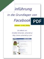 Einführung in die Grundlagen von Facebook