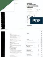 Manual Para Cientificos Sociales