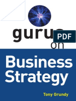 Tony Grundy-Gurus on Business Strategy-Thorogood (2005)