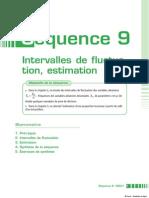 Intervalle de Fluctuaion,Estimation(9)
