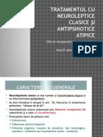 Neuroleptice Si Antipsihotice Atipice