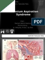 Sindrom Aspirasi Mekonium ppt