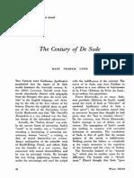 The Century Of De Sade