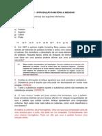 Lista Química Geral Engenharia