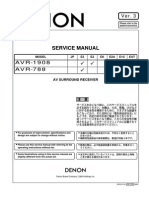 Denon Avr-1908 788 Service