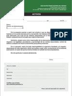 Autorizacion de Descuento (Duplicado) a Ate