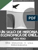 Cariola y Sunckel - Historia Economica