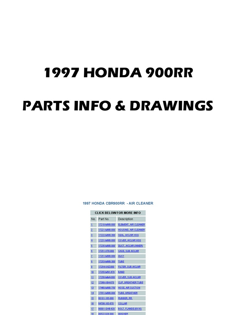 HONDA CBR900RR HOT CAM CAMS VALVE SHIM KIT CBR 900RR