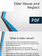 Elder Abuse and Neglect Presentation