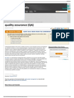 What is Quality Assurance (QA) - Definition From WhatIs.com