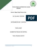 Elementos Finales de Control Miguel Angel Romero