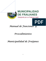 Manual Municipal de Funciones y Procedimientos