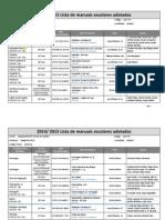 Manuais Escolares Sec - 2014-2015