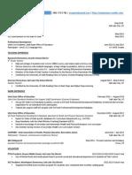 resume -  censor