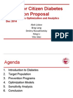 US Senior Citizen Diabetes Prevention Proposal