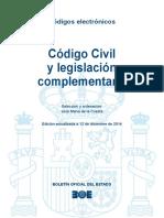 BOE-034 Codigo Civil y Legislacion Complementaria