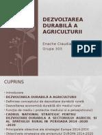 Dezvoltarea Durabilă a Agriculturii