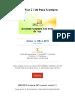 Activar Office 2010 Para Siempre