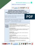 Matriz TPACK para el diseño de actividades