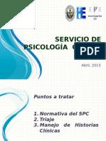 Presentación Servicio de Psicologia Clínica.pptx